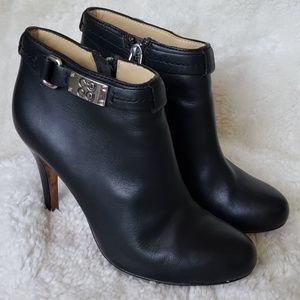 Coach heels bootie